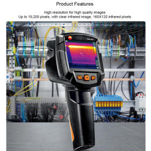 Thermal-Imager Imaging-Thermometer Testo Infrared 865 with Scaleassist Camera Warm Original