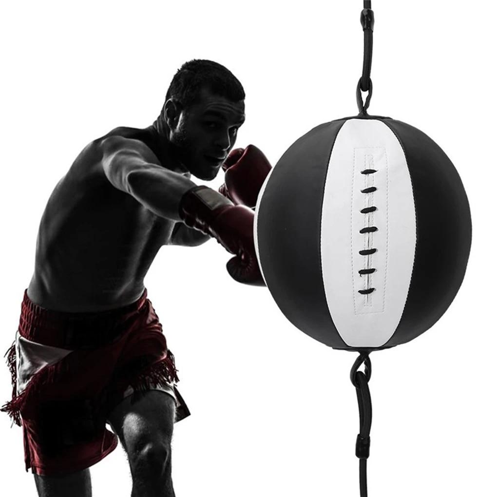 Punching Ball PU Pear Boxing Bag Reflex Speed Ball Fitness Sports Equipment