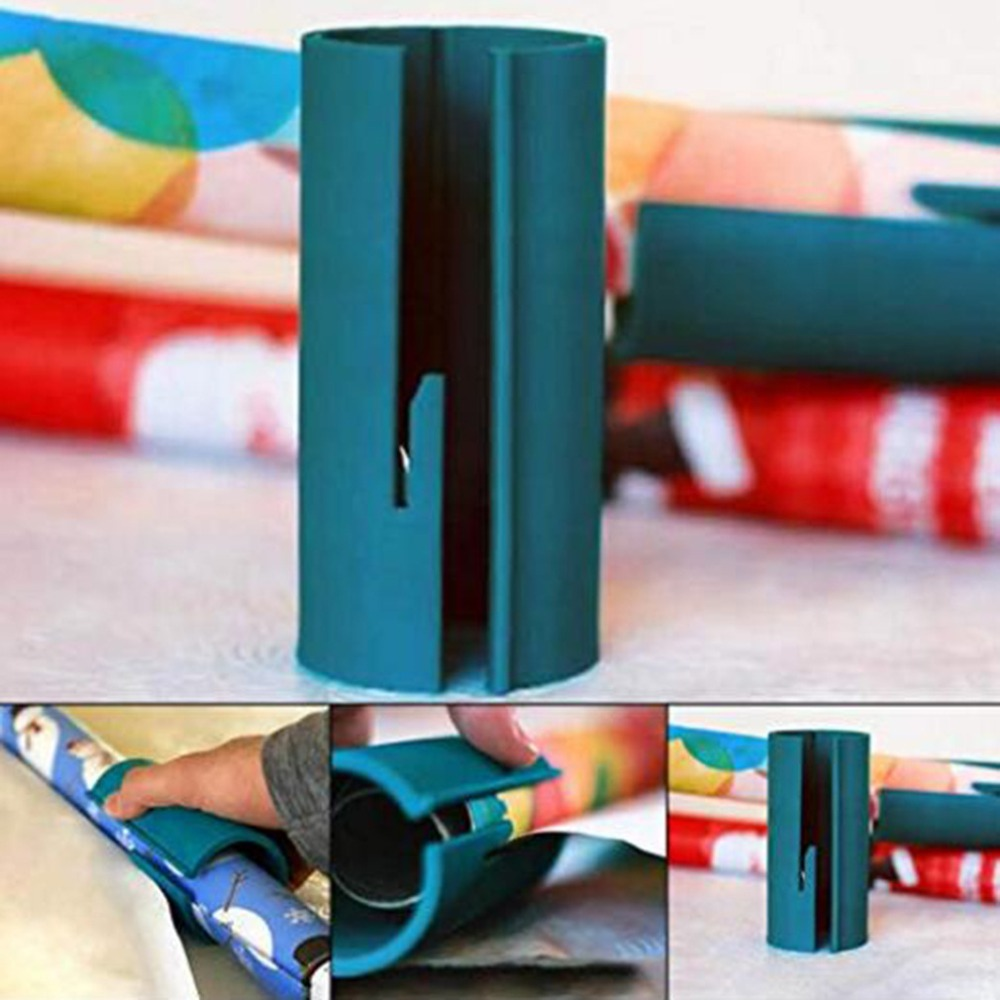 2019 Hot Cutting Tools  Sliding Wrapping Paper Cutter Wrapping Paper Roll Cutter Cuts The Prefect Line Every Single Time Paper