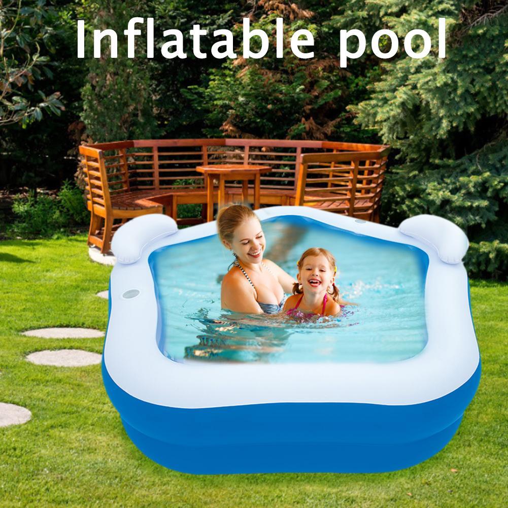 Детский надувной плавательный бассейн Piscinas, детский бассейн для купания, высокое качество, спортивные бассейны для взрослых, детская семья