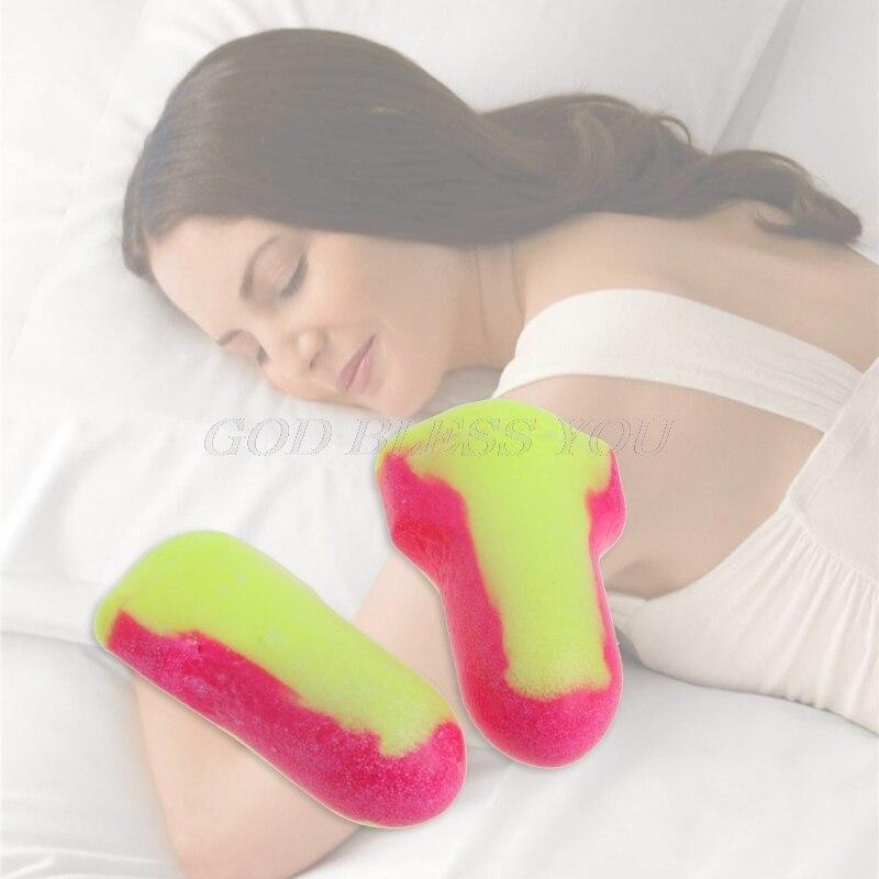 10 пар одноразовых мягких беруши из пенопласта для сна для путешествий защита от храпа защита для сна без шнуров-2