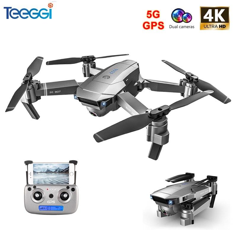 SG907 GPS Drone mit 4K HD Einstellung Kamera Weitwinkel 5G WIFI FPV RC Quadcopter Professionelle Faltbare Drohnen e520S E58