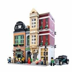 Город МОС Streetview серия Brickstive Havana кафе велосипед магазин Университет модель почта Модульные строительные блоки кирпичи игрушки подарки