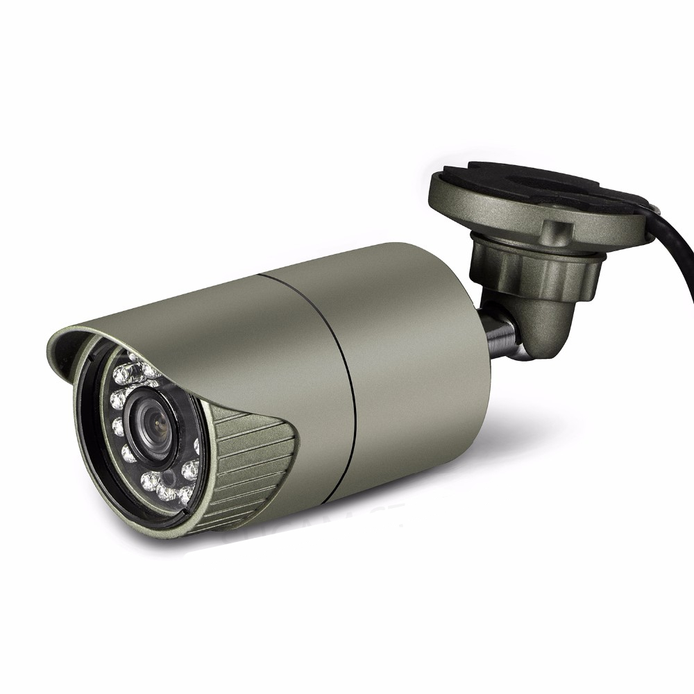 4MP Bullet AHD Camera Outdoor Video Surveillance Waterproof High Resolution AHD/TVI/CVI/CVBS Analog Camera 20M Infrared