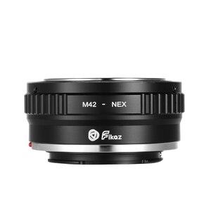 Image 5 - Fikaz LM/M42/NIKONG/NIK/MD/FD/PK/CY/EOS/OM NEX לן מתאם טבעת אלומיניום סגסוגת ליקה Sony Canon פוג י ניקון ראי מצלמה