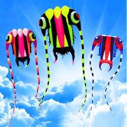 Trasporto libero di nuovo disegno 7sqm trilobiti morbido aquiloni linea ripstop nylon tessuto aquilone weifang aquiloni fabbrica polpo medusa