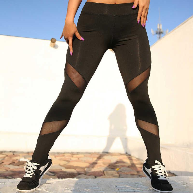 ฟิตเนส Feminina Jogging Femme Pantalon สูงเอว Yoga กางเกงผู้หญิงกางเกงขายาวกีฬาผู้หญิงฟิตเนส GYM/ไม่มีรอยต่อ/YOGA/ leggings