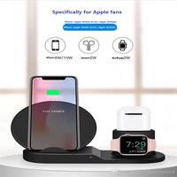 3 in 1  Charging Stand for Watch and AirPods Charger Stand Dock Station for  iWatch Series 4/3/2/1 /AirPods/iPhone|Chargers| |  -