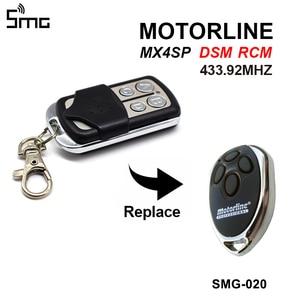 Image 1 - Gate Control Voor Motorline Mx4sp Dsm Rcm Afstandsbediening Garagedeur Opener 433.92 Mhz Motorline Clone Controller