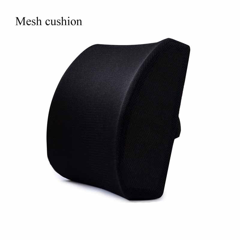 He1633e206f4742f98c7f2520a70ae0927 Car Seat Cushion Coccyx Orthopedic Memory Foam Seat Massage Chair Back Cushion Pad Office Massage Cushion