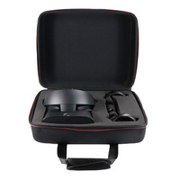 Zipper Storage Bag Accessories Carry Case Shoulder Strap Removable Hook Sponge Portable VR Glasses For Oculus Rift S PC Powered
