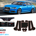 Противоскользящий резиновый подстаканник для Audi A6 C7 2011 2012 2013 2014 A6 4G RS6 S6 S line RS 6  аксессуары для автомобильных наклеек