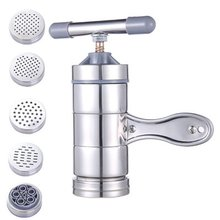 Ручная машина для приготовления лапши, пресс для макаронных изделий, резак для фруктов, соковыжималка, кухонная посуда w/Пресс-формы для приготовления спагетти, кухонные принадлежности