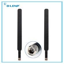 2 Pçs/set Preto 4G Antena para 4G LTE Router Antena Externa SMA Macho para Huawei B593 E5186 Para HUAWEI B315 B310 698-2700MHz