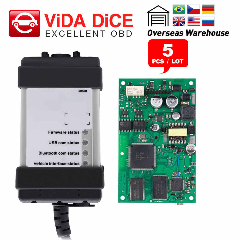 EWD 2014D Full Chip Volvo Dice Pro Diagnostic Tool VIDA 2014D