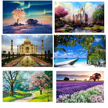 5D Diamond Painting Art Dotz Paint by Numbers Full Drill Kits Supplies for Adults Kids Beginners Home Wall Decoration - discount item  30% OFF Arts,Crafts & Sewing