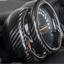 Автомобильная приборная панель из углеродного волокна, декоративная раковина, автомобильный Стайлинг для BMW MINI COOPER F54 F55 F56 F57 F60, аксессуары для модификации