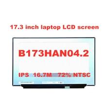 ЖК экран для ноутбука b173han042 173 дюйма fhd без винтовых