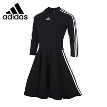Original New Arrival Adidas W 3S Dress Women's T-shirts Long sleeve Sportswear