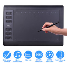 10*6 Inch Portable Digital Tablet Connect Mobile Phone Digital Pressure Drawing Tablet Interactive Graphic Tablet for Drawing