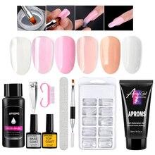Builder Nail-Gel-Kit Poly 30ML Manicure UV