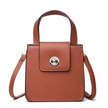 Women Crossbody Messenger Bag Shoulder Brands Fashion Solid Color Cover Lock Phone business