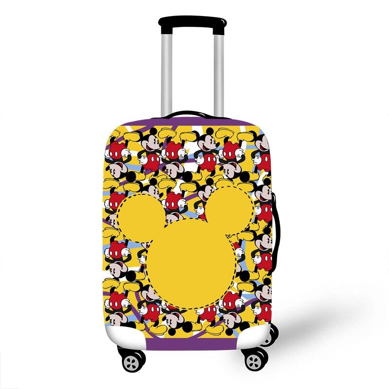 Protetora para Cases do Trole Acessórios de Viagem Padrão do Pássaro Bagagem Elástica Case Capa Mala Protetora Covers 3d Teste 1000