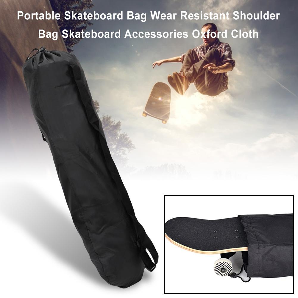 Portable Skateboard Bag Wear Resistant Shoulder Bag Skateboard Accessories Oxford Cloth //
