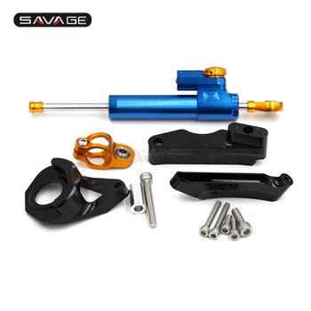 Steering Damper Adjustable Stabilizer For SUZUKI GSX-R 600/750 2001-2005 02 03 04 Motorcycle Linear Reverse Safety Kit GSXR