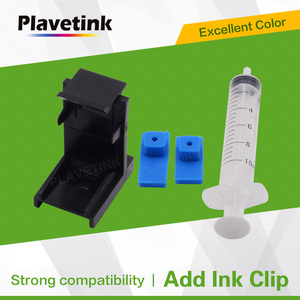 Plavetink Ink Cartridge Clamp Absorption Ink Clip Pumping Tool for HP 121 122 140 141 300 301 302 21 22 61 650 652 651