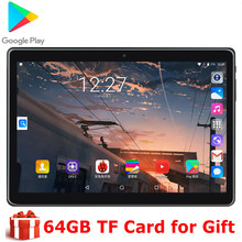 Android 9,0 OS 10 zoll tablet 3G Anruf eMMC Speicher 1280*800 IPS WIFI Tabletten 10 10,1 youtube GPS Pad 5MP Google Markt(China)