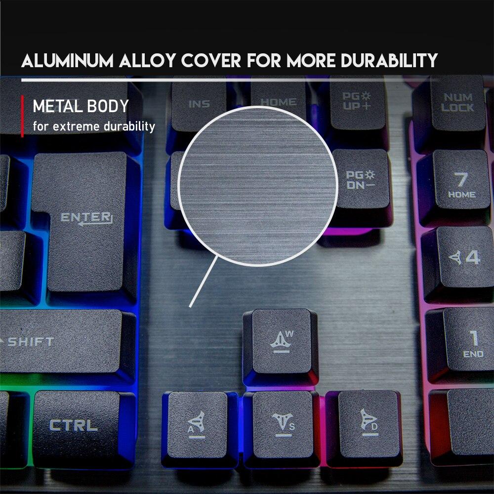 Fantech KX302 Major RGB Gaming Keyboard Mouse Combo 7