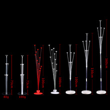 Balloon Floating-Stand Clear-Base Wedding-Decoration Birthday-Party Pole-Table 1set