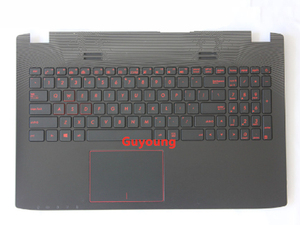 90% new Palmrest US keyboard bezel Upper Cover For ASUS ZX50J N551 ZX50JX ZX50 VW GL552J GL552V GL552VL