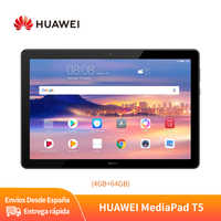 Huawei MediaPad T5 Versión Global Tablet PC 10,1Pulgadas 4GB 64GB WiFi Versión 1080P HD Pantalla 5100mAh Dual Speaker Android8.0