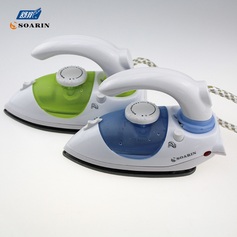 Export English Mini Hand-Held Household Foldable Electric Iron Teflon Steam And Dry Iron SR-2388