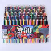 Цвет ful 48/72/120/160 чернильные цветные карандаши набор масляная ручка для детей Школа Офис Рисование Живопись граффити Цветные Карандаши Канце...
