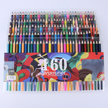 Colorful 48/72/120/160 Ink Colored Pencils Set Oil Pen for Kids School Office Drawing Painting Graffiti Color Pencils Stationery vividcraft kawaii 12 pcs lot knock type colored pencils for drawing kids mechanical pencils stationery office school supplies