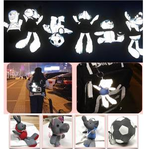 Childen Reflective hang bag Reflective protective accessories creative gift doll toys