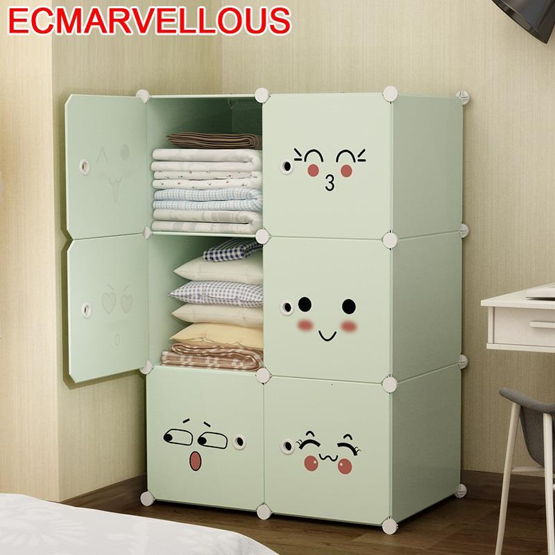 Garderobe Armario Almacenamiento Dresser For Bedroom Armoire Rangement Szafa De Dormitorio Mueble Guarda Roupa Closet Wardrobe