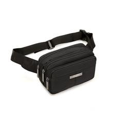 Multi Pocket Unisex Waist Bag Ourdoor Sport Running Fanny Pack Phone Wallet Purse Women And Men Chest Bag Zipper Belt Bag