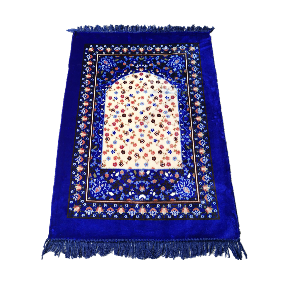 B Box Islamic Prayer Mat Janamaz Sajjadah Muslim Thick Sajda Velvet Lattice (80*120)Islamic Prayer Mat  Janamaz Prayer Rug