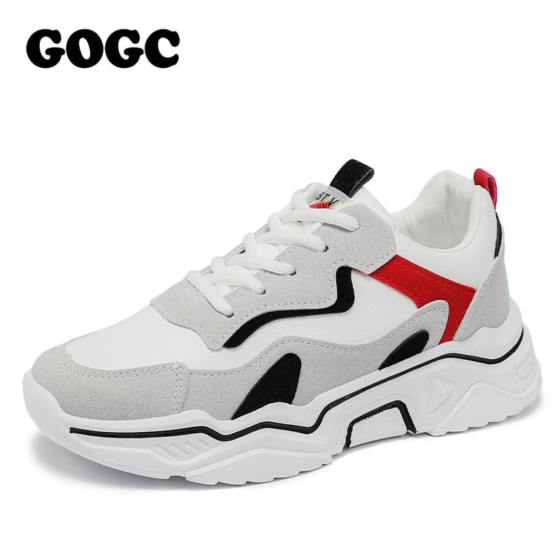 GOGC 2020 Women Shoes Spring Women's Shoes Platform Ladies Sneakers chunky sneakers Shoes casual women shoe Women Snekaers G6802 1