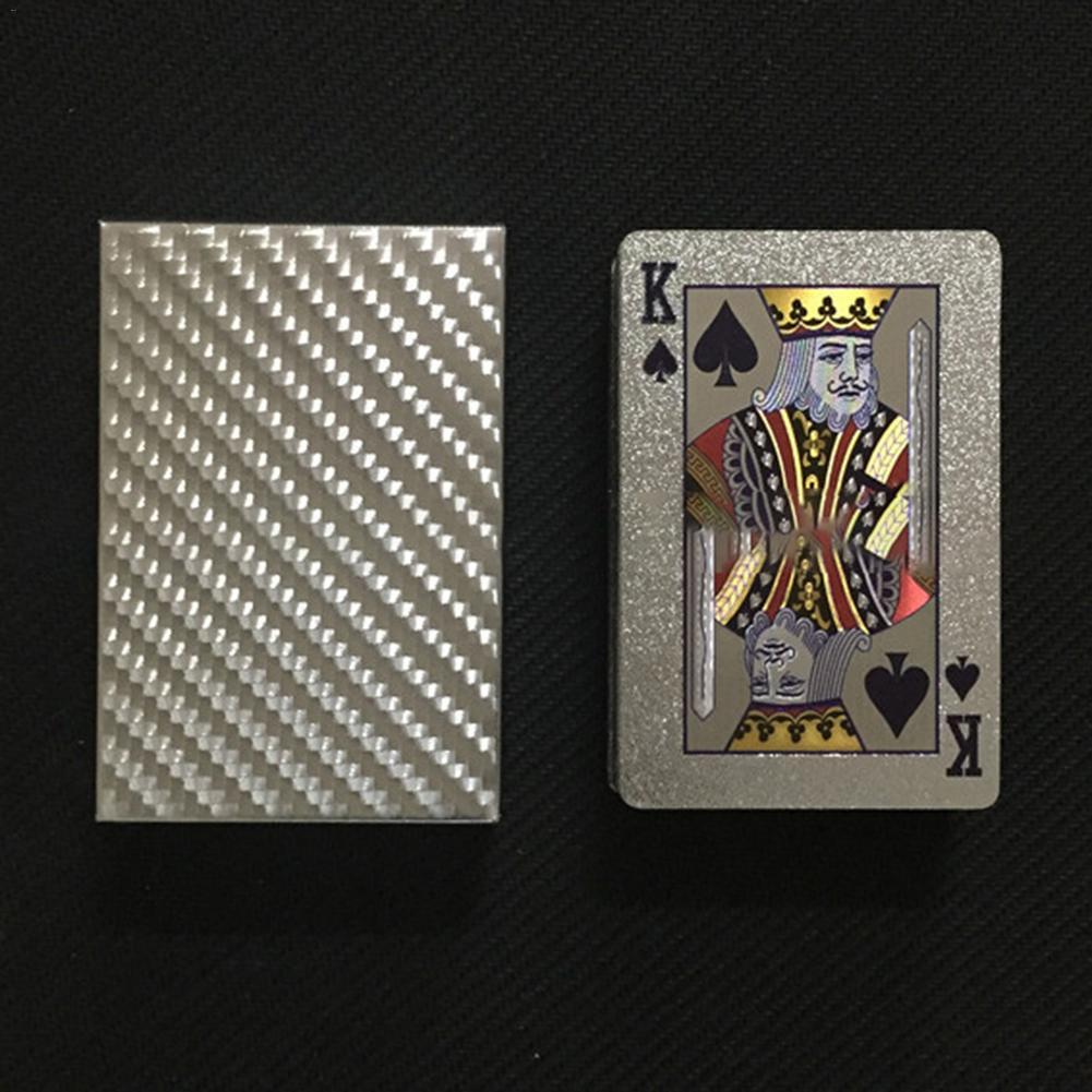 Juego de cartas de plástico duradero de alta calidad a prueba de agua oro Oro Negro oro colección negro diamante cartas de póker Moldes de plástico 3D para paneles de azulejos 3D molde de yeso para pared de piedra decoración de arte de pared ABS DIY molde de ladrillo para pared de hormigón molde de onda 50*50cm