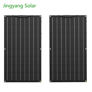 Image 3 - 400W Etfe Flexible Solar Panel 4PCS of 100W Panel Solar Monocrystalline Solar Cell For 12v/24v Solar Battery Charge 200W 300W