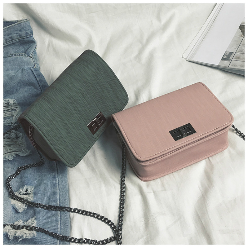 Women Shoulder Bag Luxury Handbags Bags Designer Version Wild Girls Small Square Messenger Bolsa Feminina