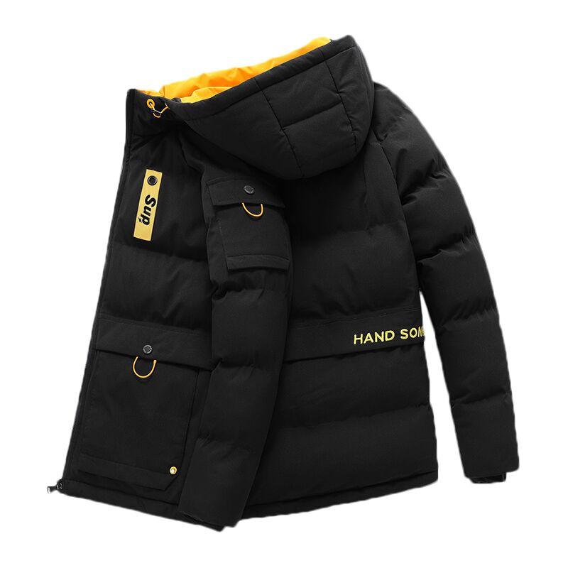 Мужская зимняя куртка размера плюс 6XL 7XL 8XL, толстая ветровка, ветрозащитная куртка, Мужская теплая подкладка, зимние лыжные куртки с капюшоном, Мужская парка|Парки|   | АлиЭкспресс