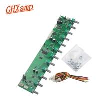 GHXAMP T62M0001A Karaoke Reverb Bluetooth pokładzie mikrofon kwadratowy taniec głośnik gitara przedwzmacniacz Treble Mid Bass regulacja