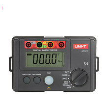 UNI-T UT521 LCD Digital Earth Resistance Tester Low Spannung Display 0-200V 0-2000 ohm Boden Erde widerstand Spannung Mete(China)