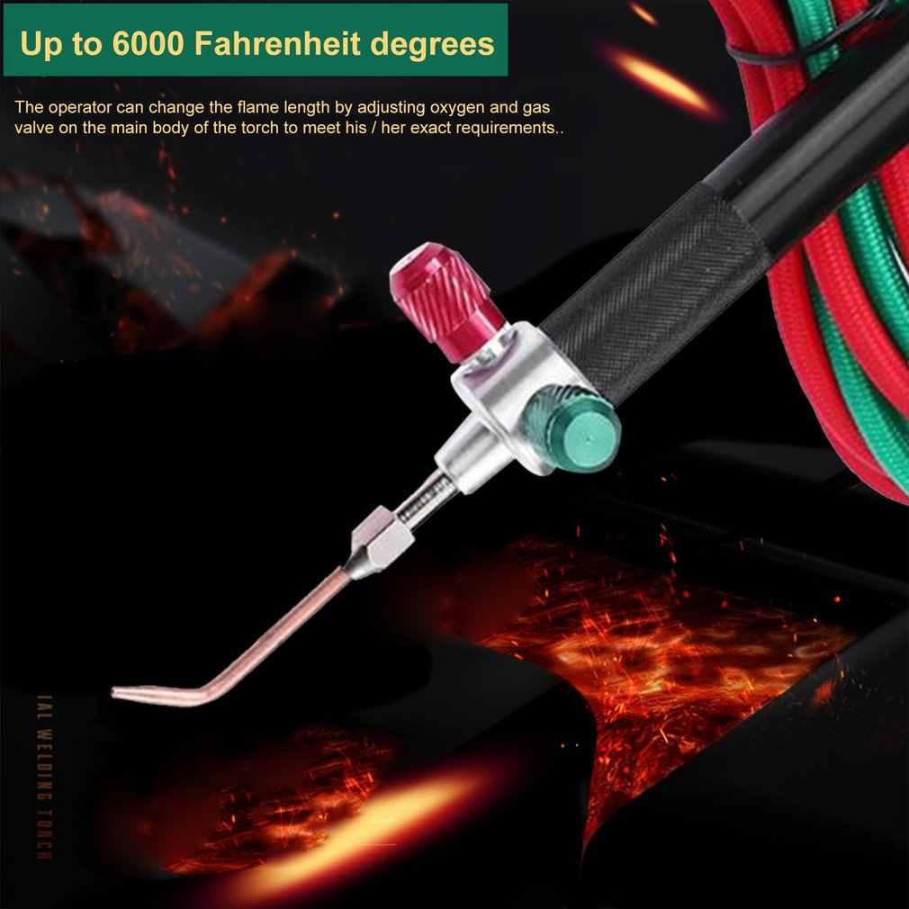 Gas Torch Oxygen Welding Soldering Gun Oxygen Acetylene Gun for Platinum tq